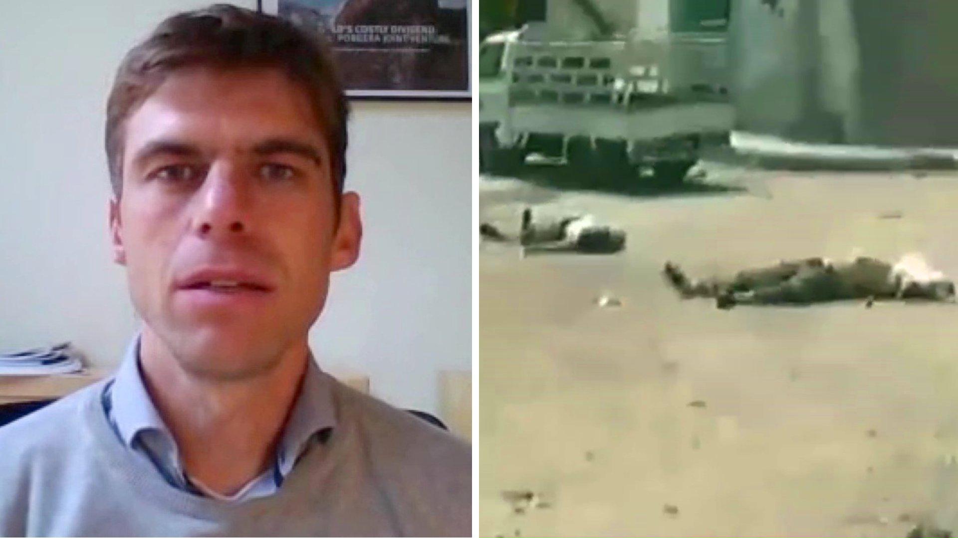 Wolfgang Büttner (Human Rights Watch) zu Kriegsverbrechen in Syrien