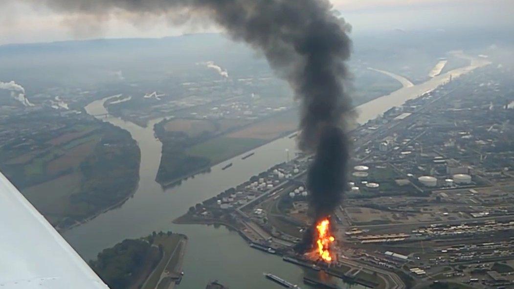 Explosion auf BASF-Gelände in Ludwigshafen