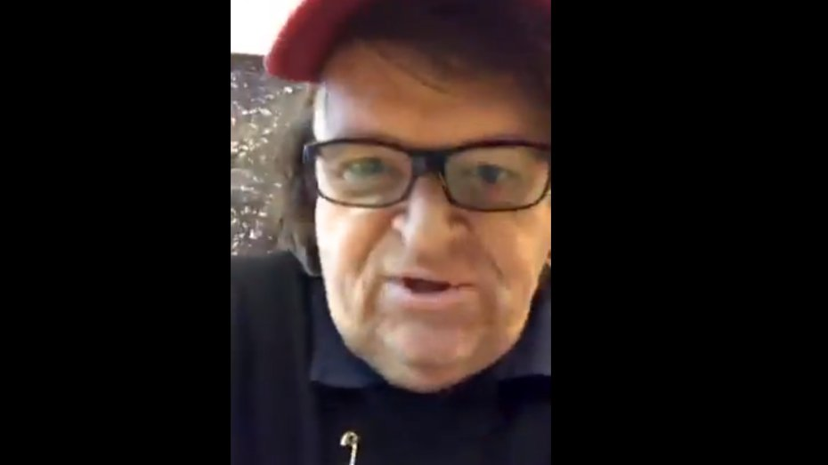 Michael Moore im Trump-Tower