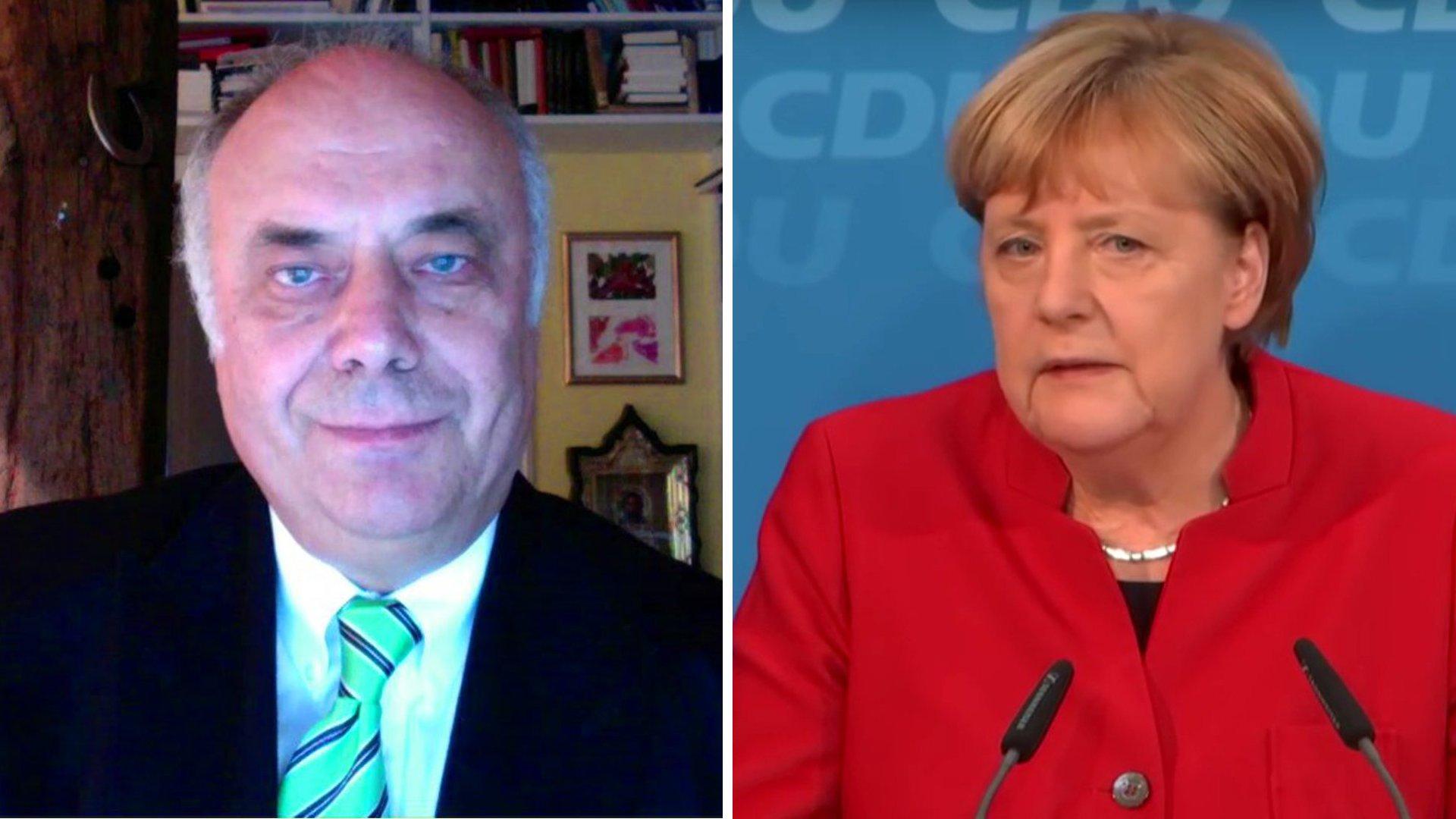 """""""Anker der Stabilität"""" - Michael Rutz über Merkel"""
