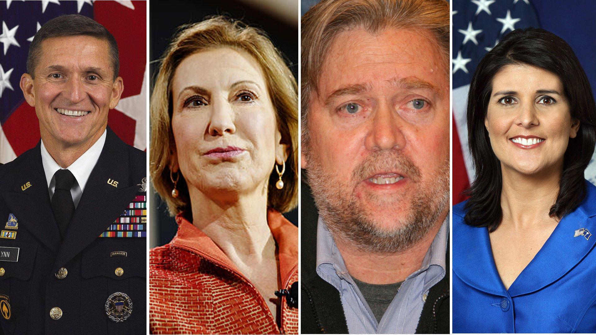 Das Kabinett Trump - reich, christlich, rechts außen