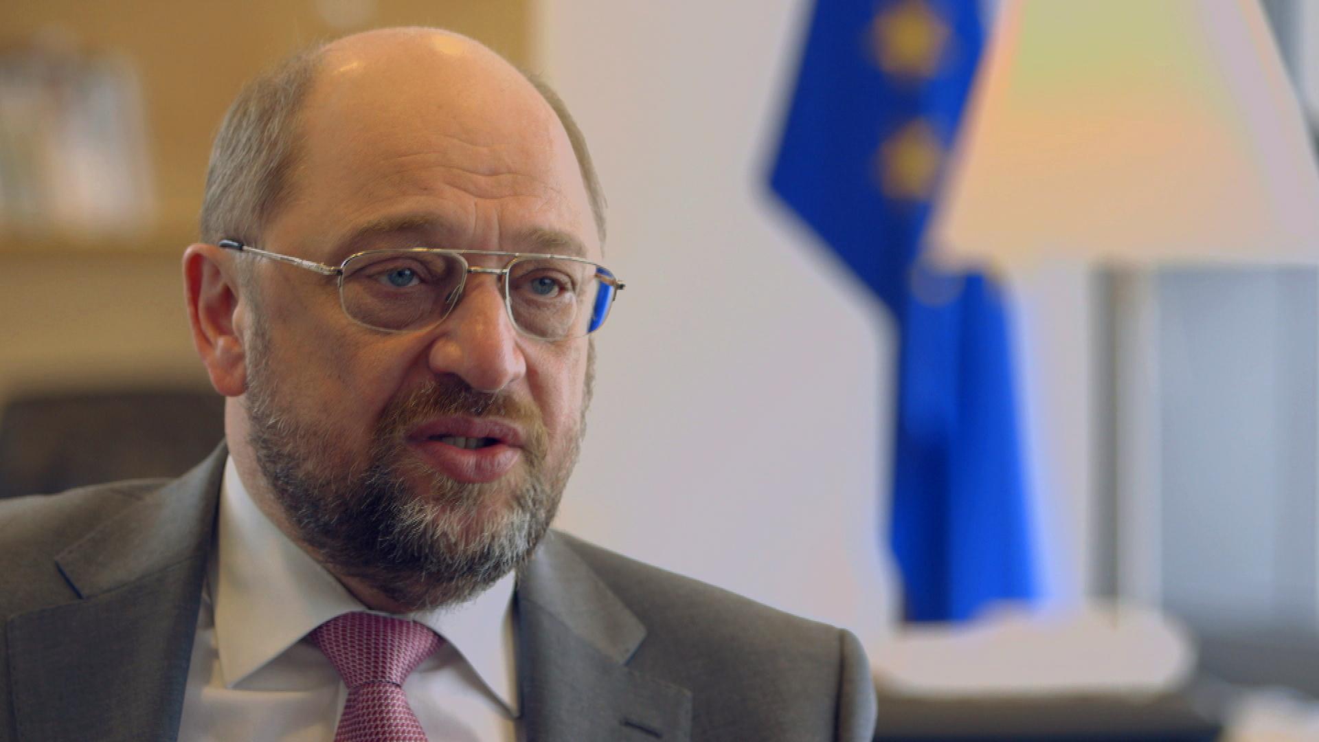 Interview mit Martin Schulz über Tiefpunkte, Europa und sein Selbstbild