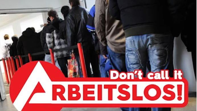 Don't call it Arbeitslos! (probono Magazin)