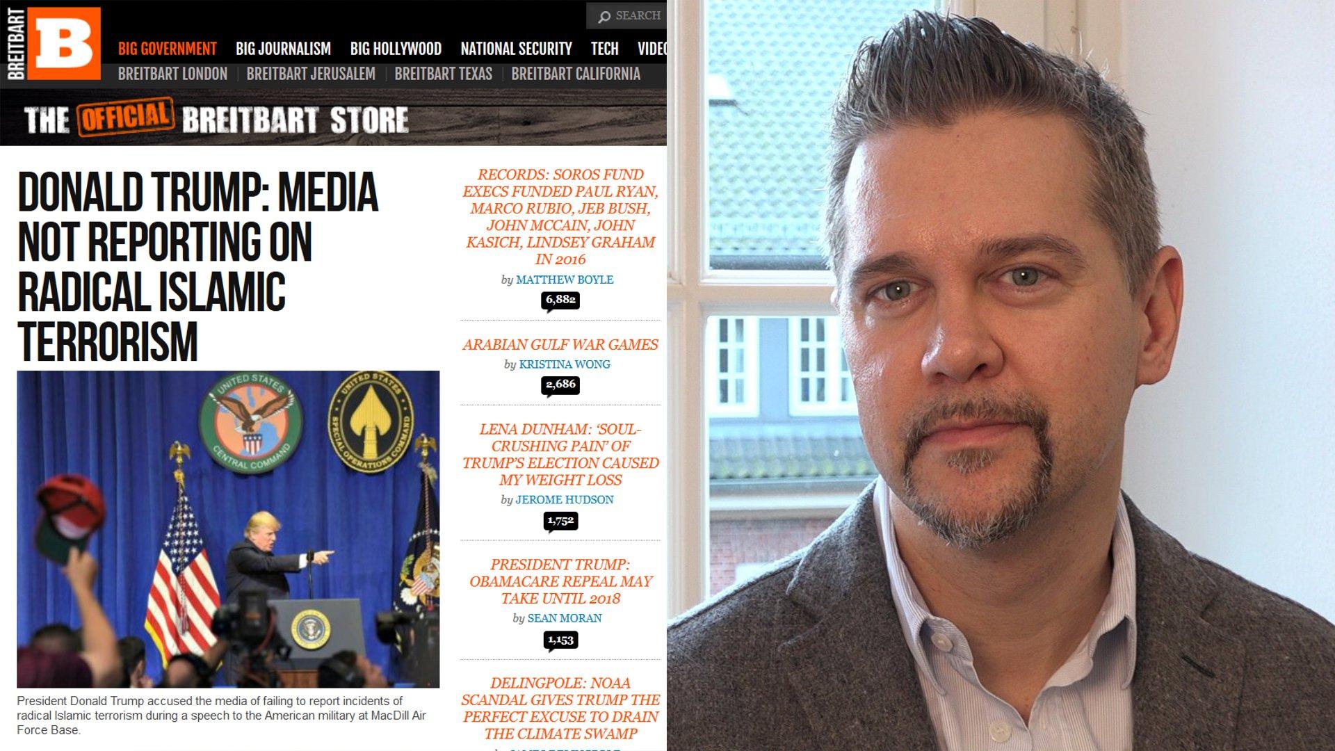 """So will """"Breitbart"""" in Europa Politik beeinflussen - Medienforscher Weichert im Interview"""