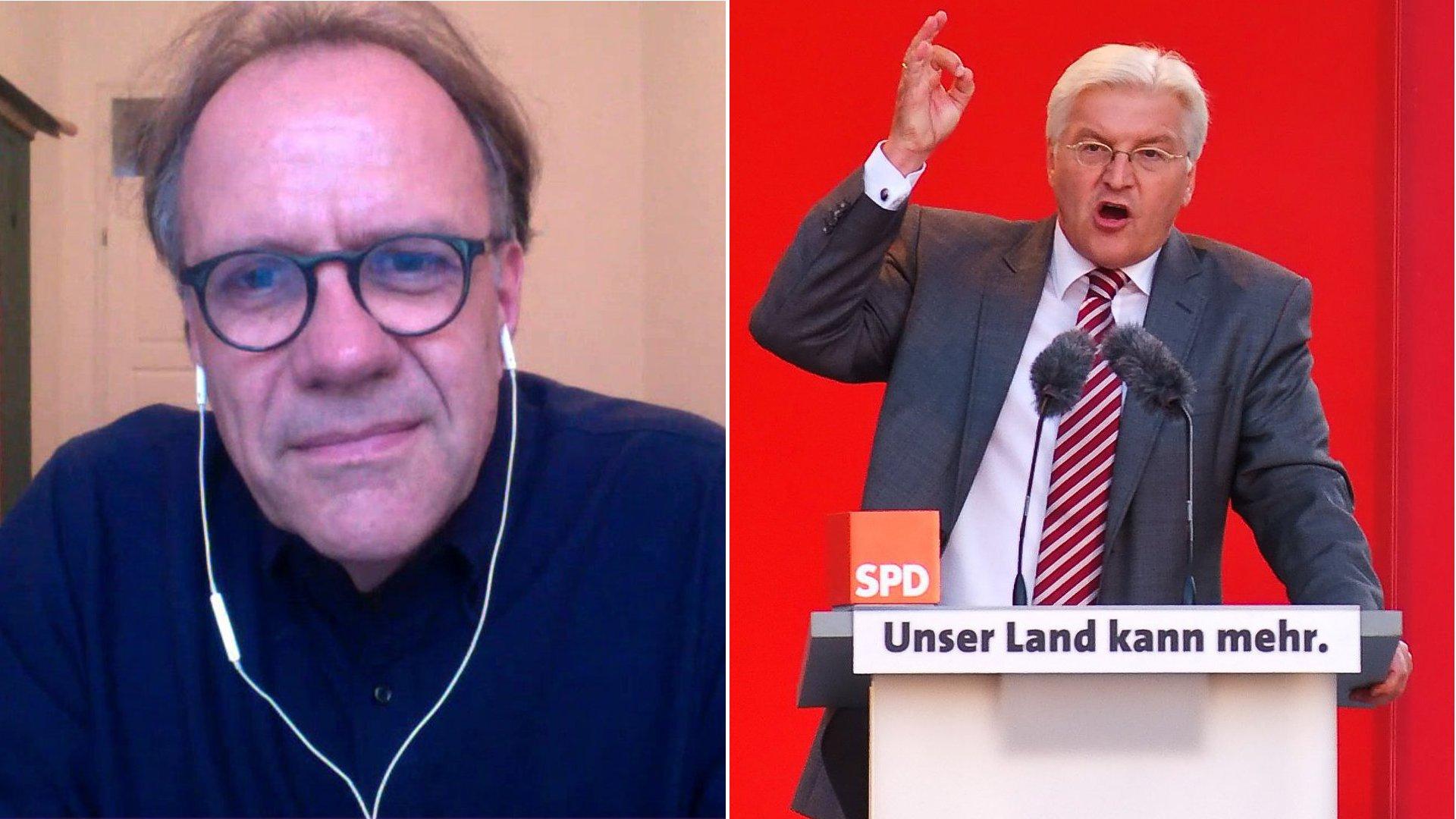 Peter Ruhenstroth-Bauer über Frank-Walter Steinmeier