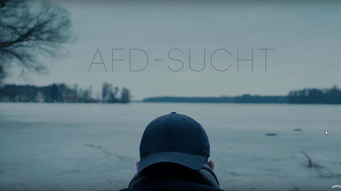 """""""Immer mehr Deutsche erkranken an AfD-Sucht"""""""