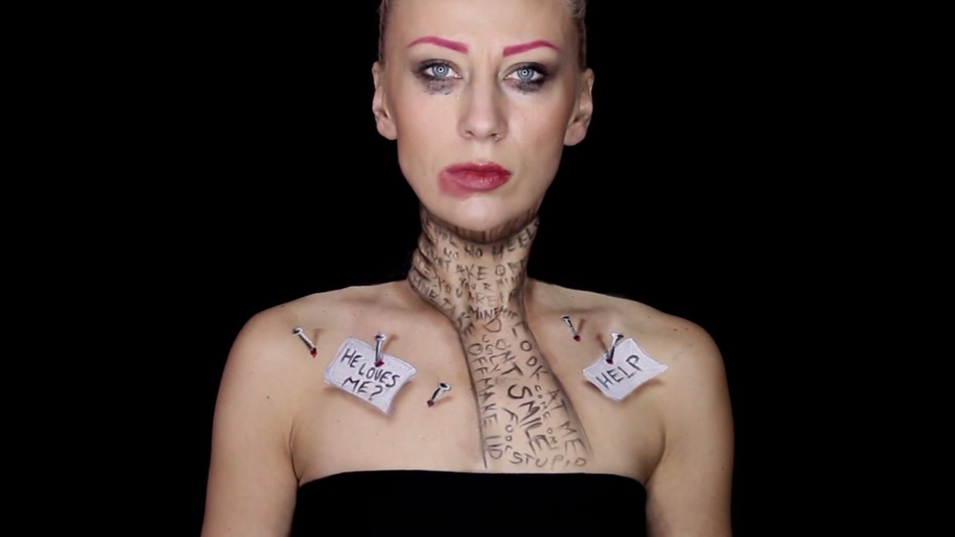 Bodypainting der Künstlerin Mirjana Kika Milosevic