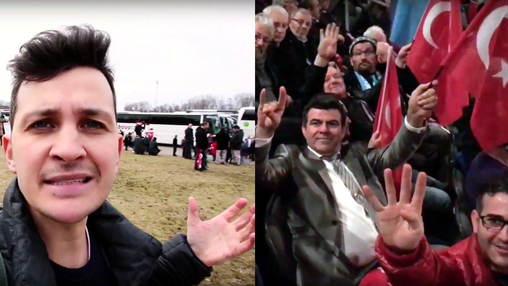 Ministerpräsident Yildirim wirbt in Oberhausen für Präsidialsystem | Reportage | Cemcorder