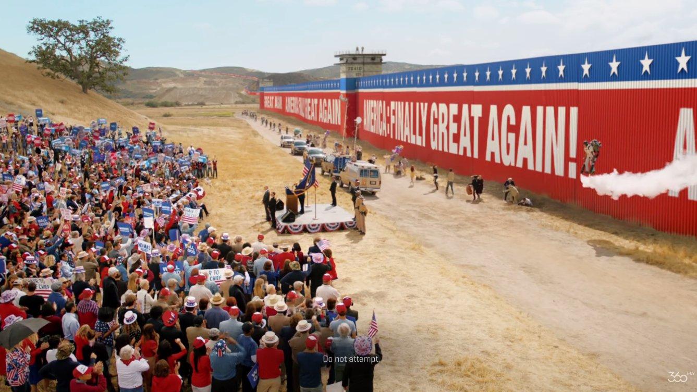 Witziger Werbehit: Trumps Mauer ist ein Desaster