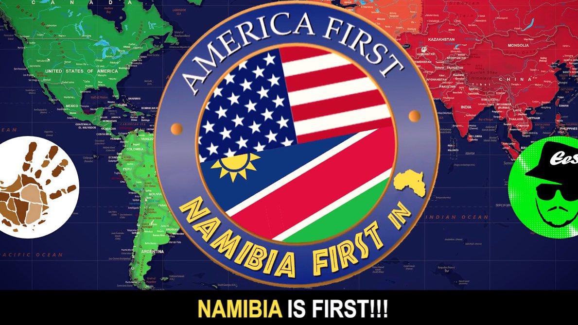 """Schluss mit Platz zwei! Ab sofort heißt es """"Namibia First""""!"""