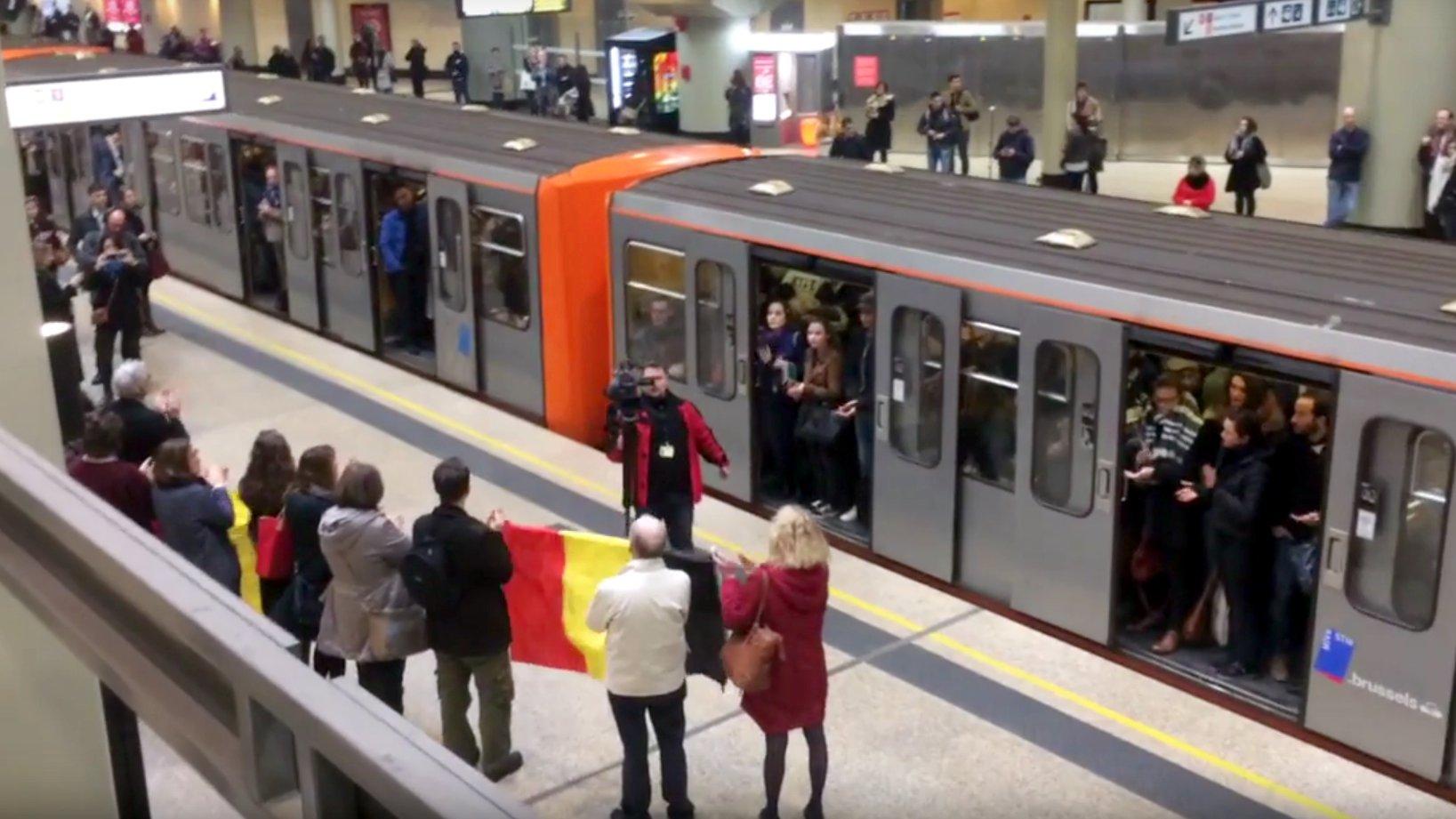 Brüssel: So gedenkt die Stadt der Terror-Opfer