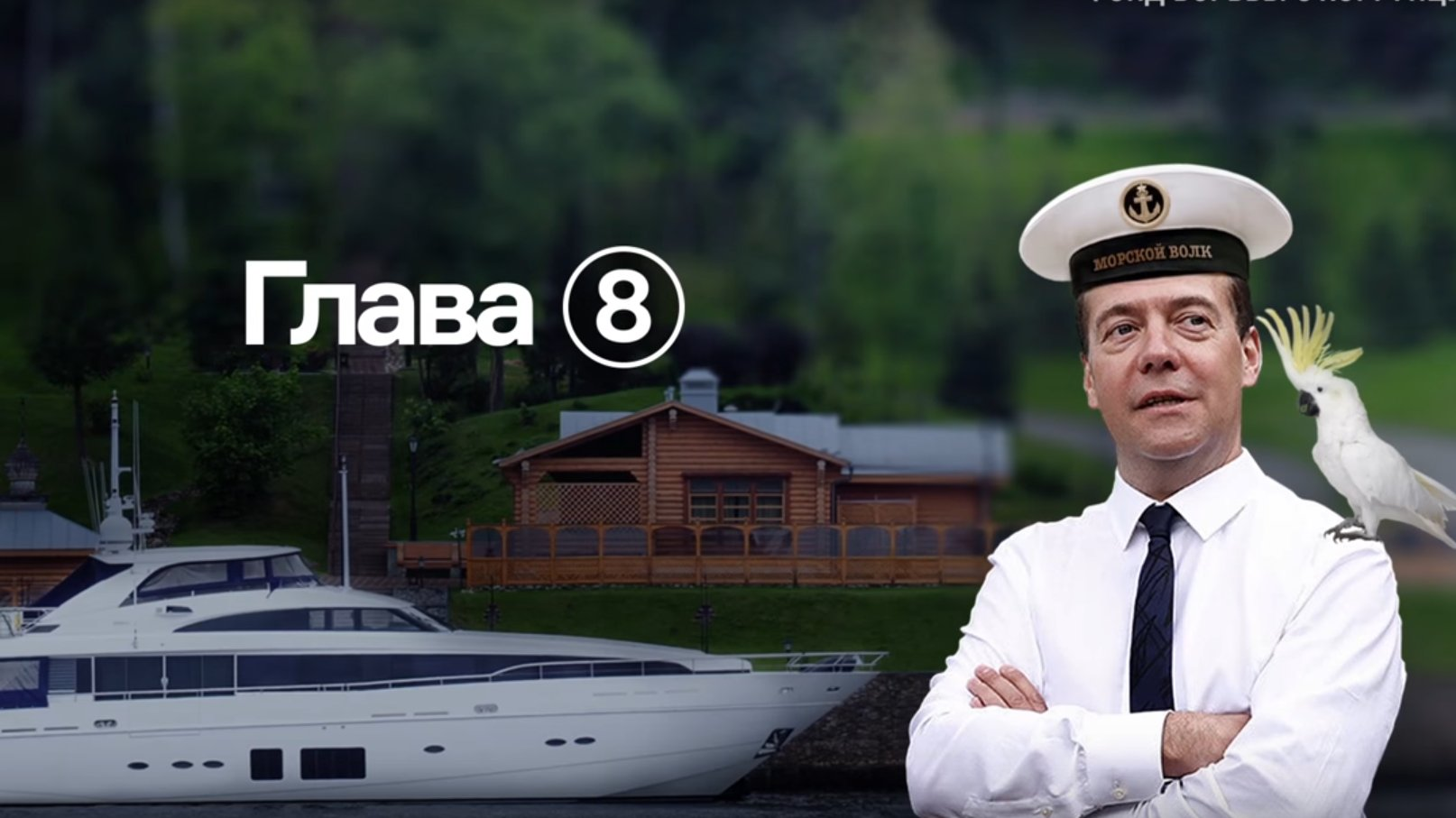 Korruption in Russland: Medwedews geheime Paläste