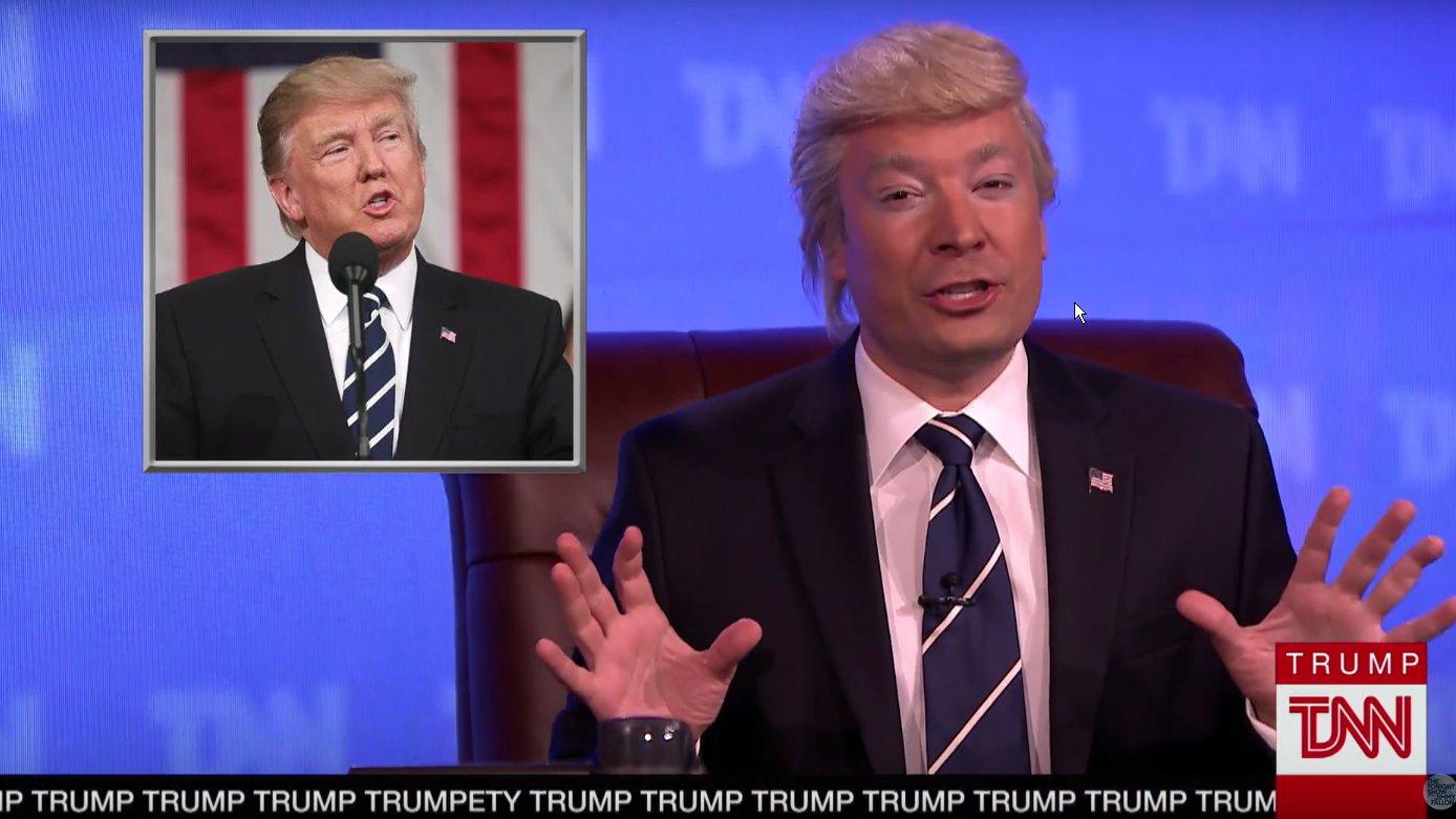 Jimmy Fallon als Donald Trump - Die neuesten Real News