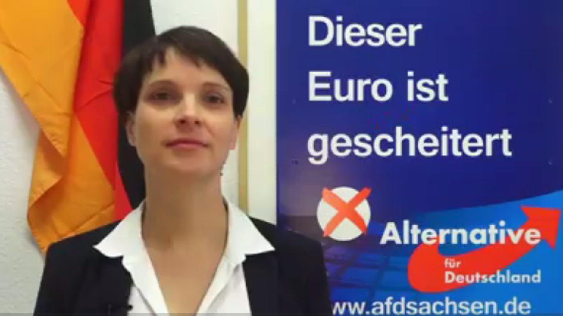 Frauke Petry will keine Spitzenkandidatin werden