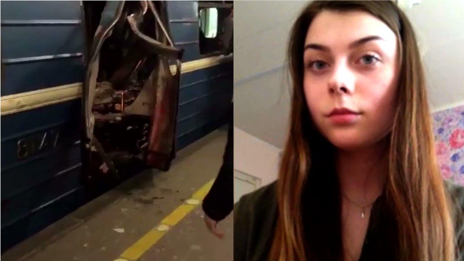 Julia Markova, Studentin, über den Terroranschlag in St. Petersburg (2017)