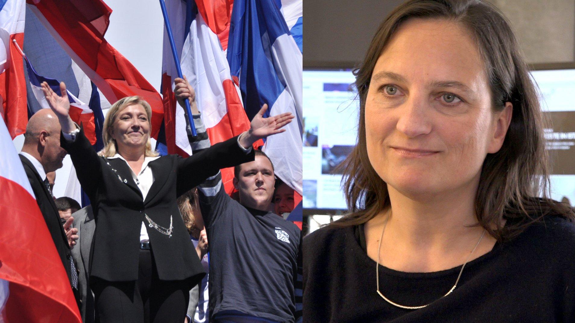 Wie tickt Marine Le Pen? Interview mit Tanja Kuchenbecker | Foto: Blandine Le Cain