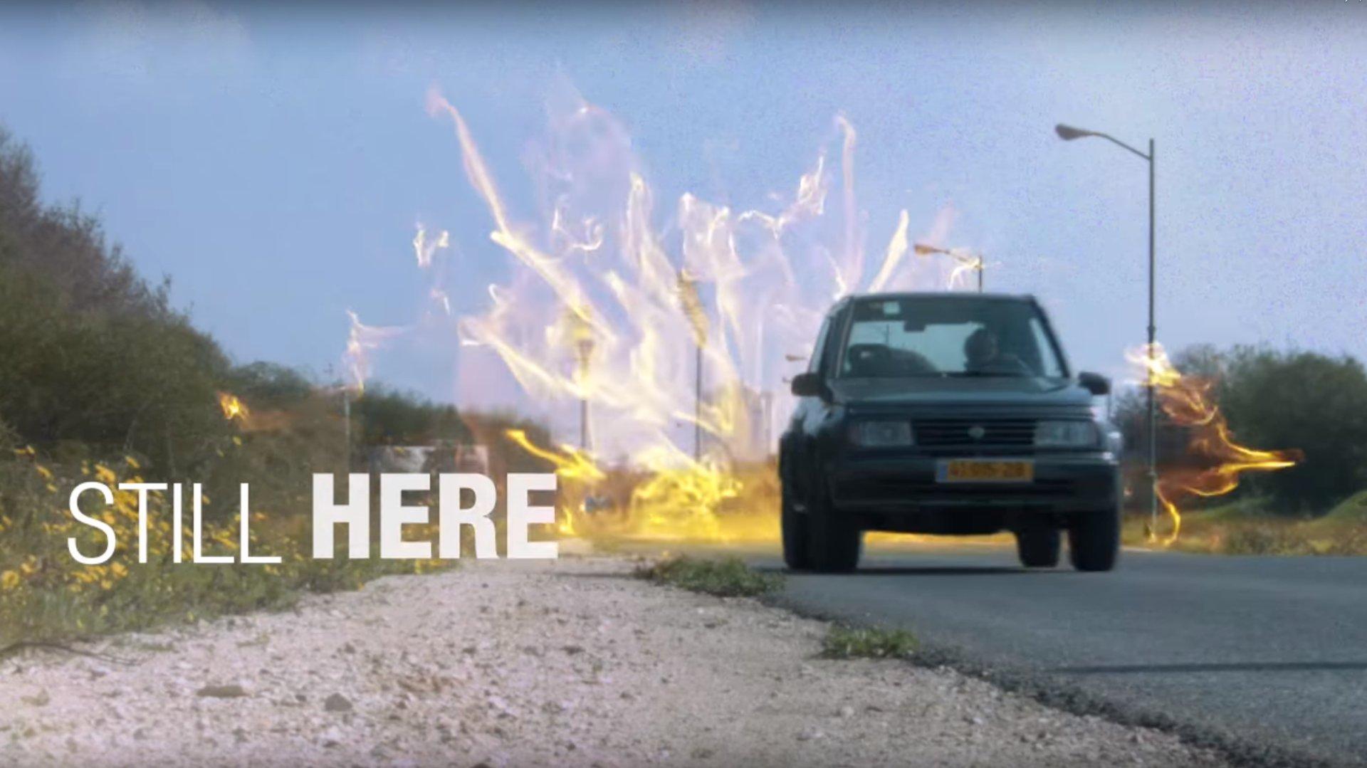 Künstler landet mit spektakulärer Autowerbung viralen Hit