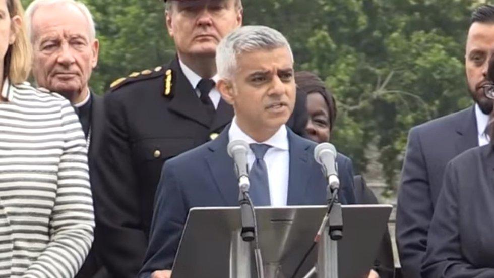 """London Bürgermeister Khan: """"Ihr handelt nicht in meinem Namen"""""""