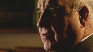 Altkanzler Helmut Kohl bei seinem letzten großen TV-Interview, 2003