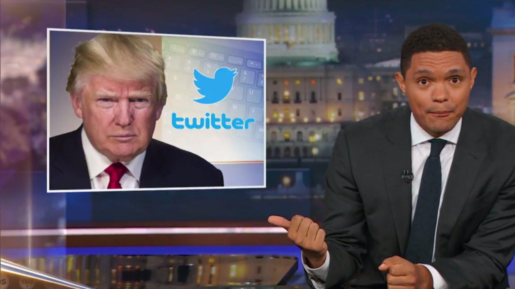 Transgender Ban: Daily Show nimmt Trump-Tweet auseinander