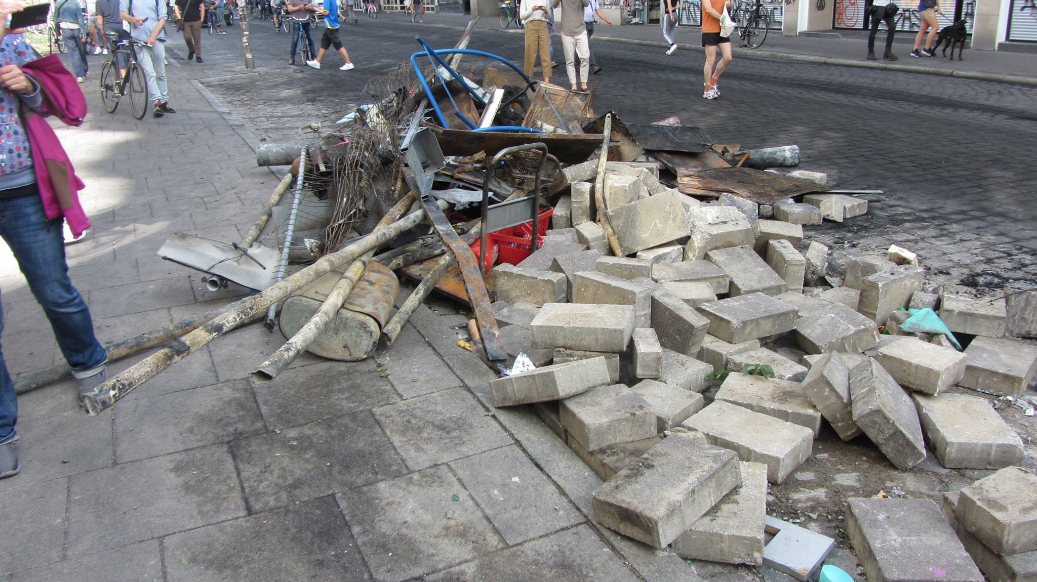 G20-Gipfel: So sah es nach der Krawallnacht im Schanzenviertel aus