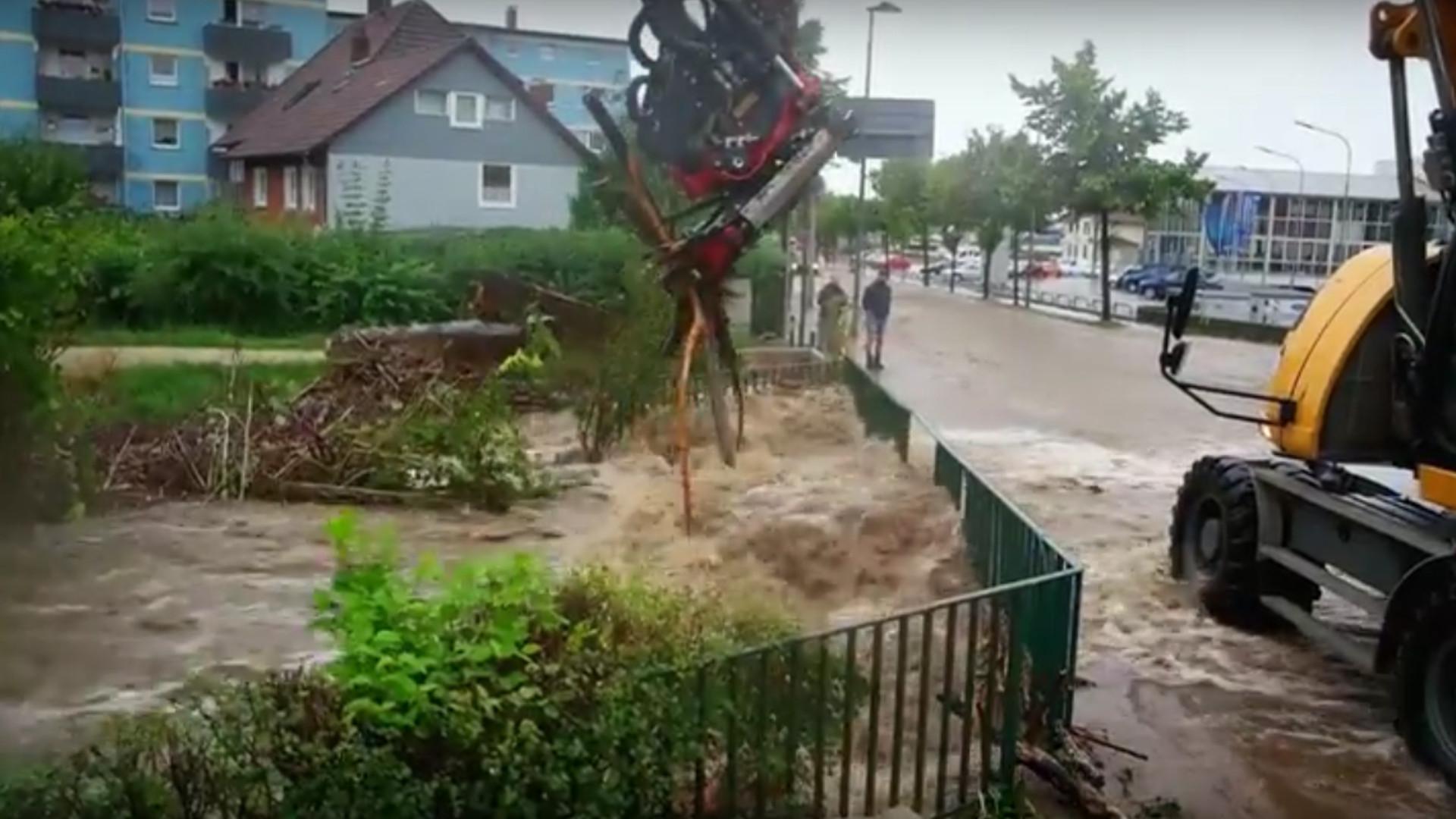 Dauerregen und Unwetter: Hochwasser in Deutschland