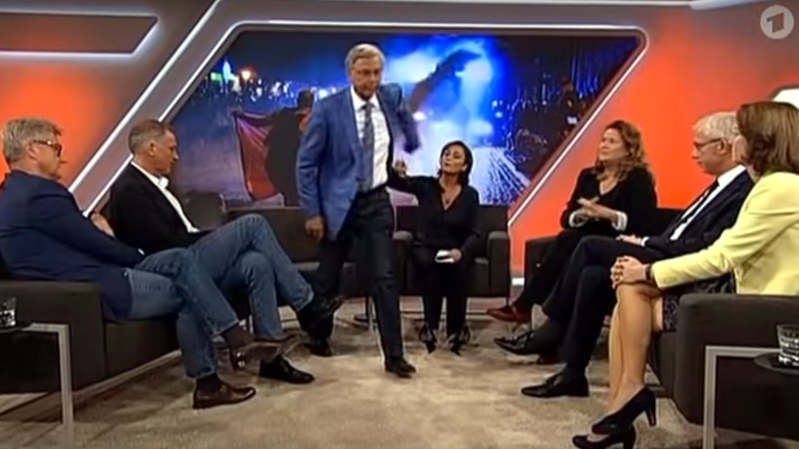 Eklat bei Maischberger: Bosbach verlässt die Sendung