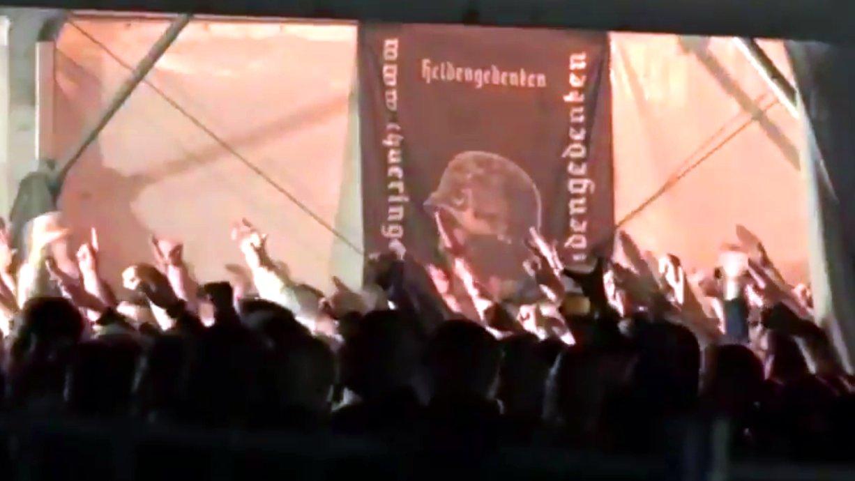 Neonazi-Festival in Themar: Polizei ermittelt wegen Hitlergruß