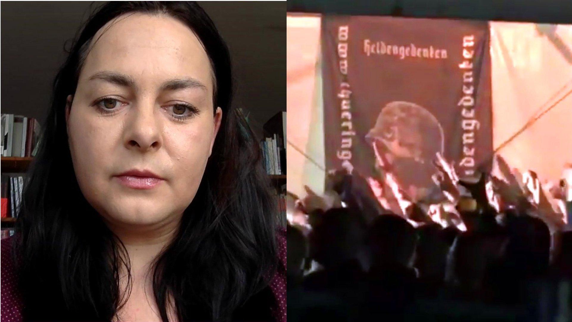 Interview mit Katharina König-Preuss (DIE LINKE) zum Neonazi-Festival in Themar (Thüringen), dbate 2017