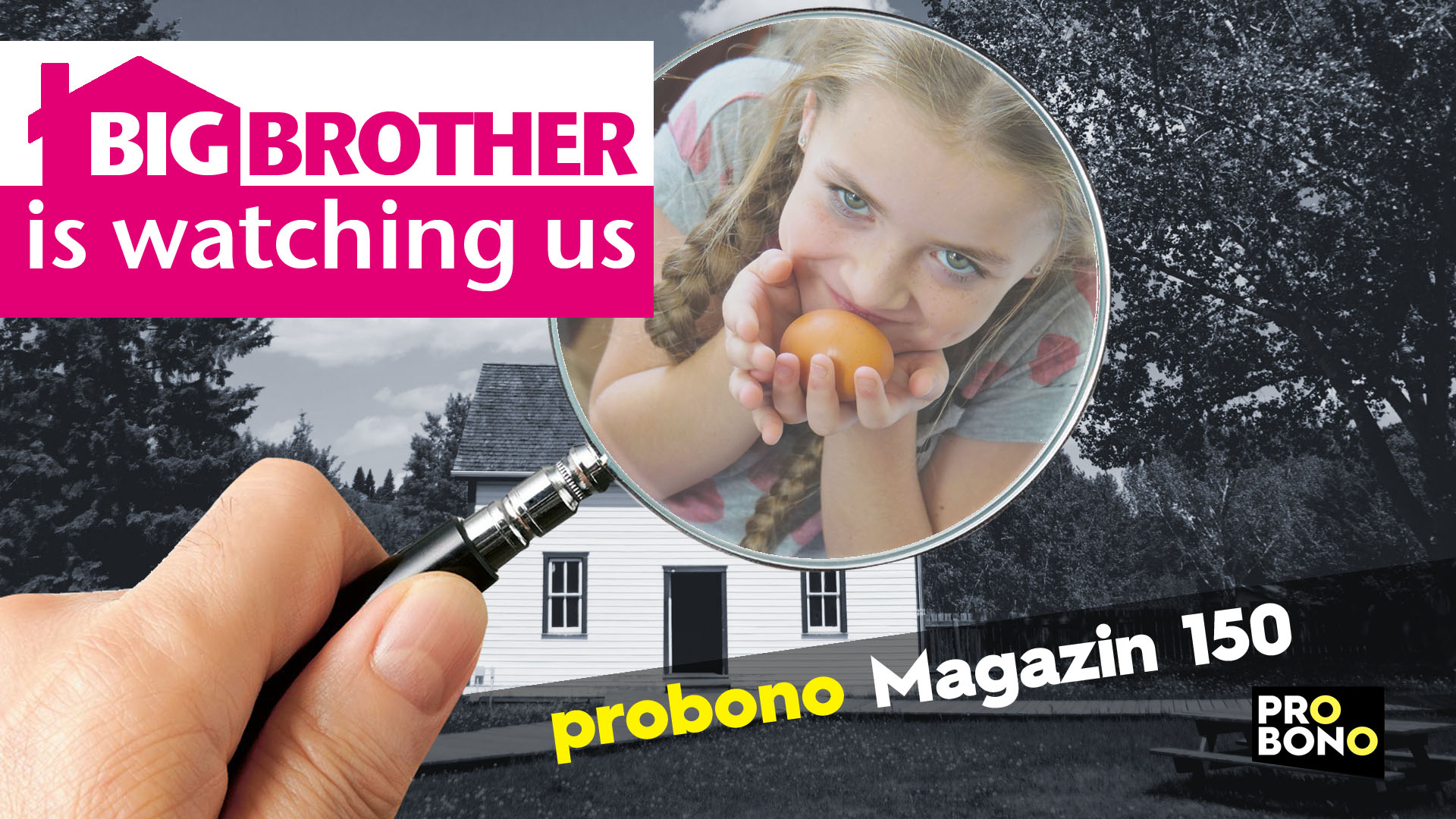SmartHome mal anders: Überwachung zu Hause (probono Magazin)