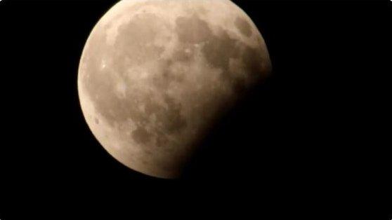 So schön war die Mondfinsternis