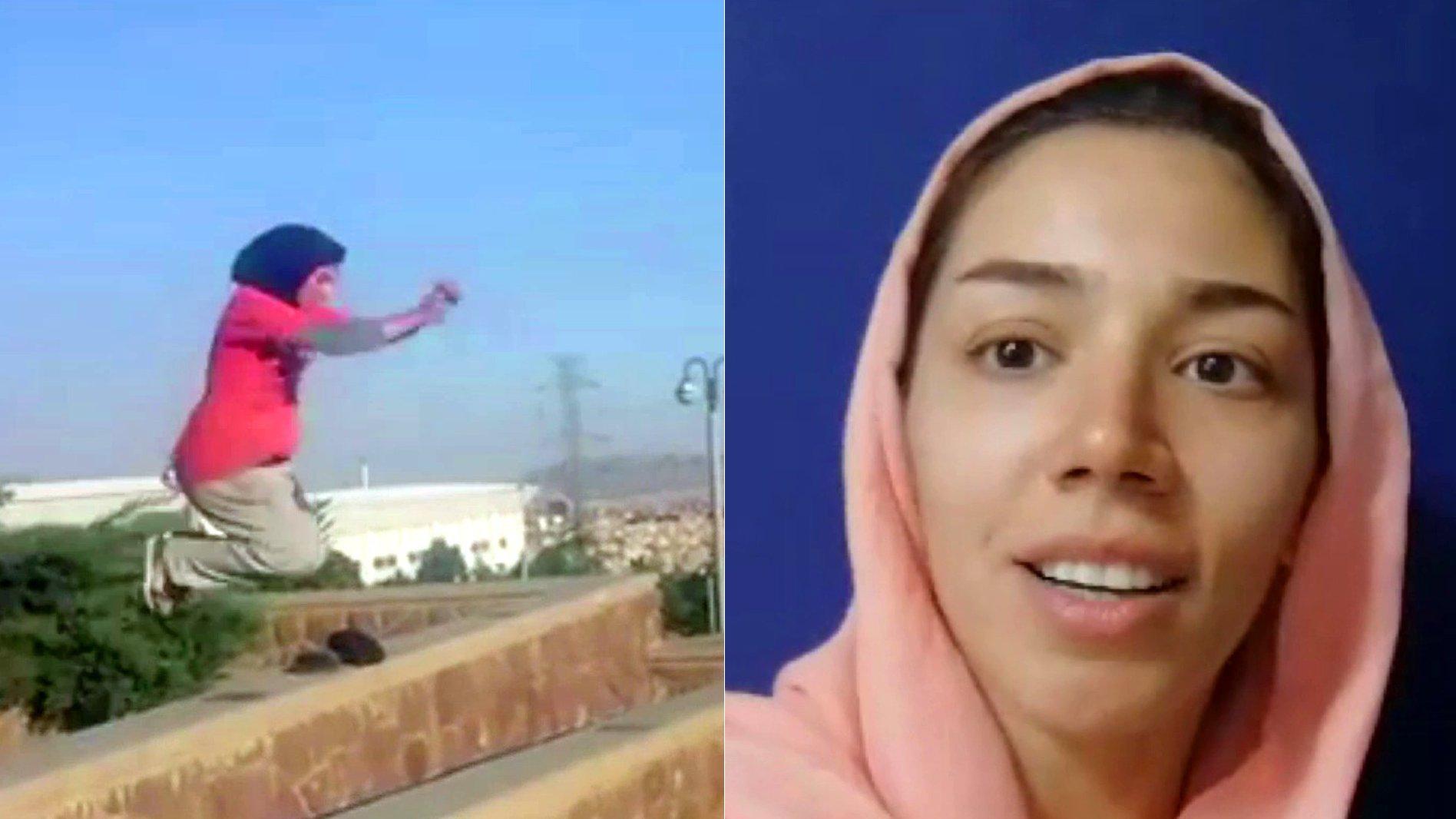Mahsa - die mutige Parkour-Frau von Teheran (Iran)