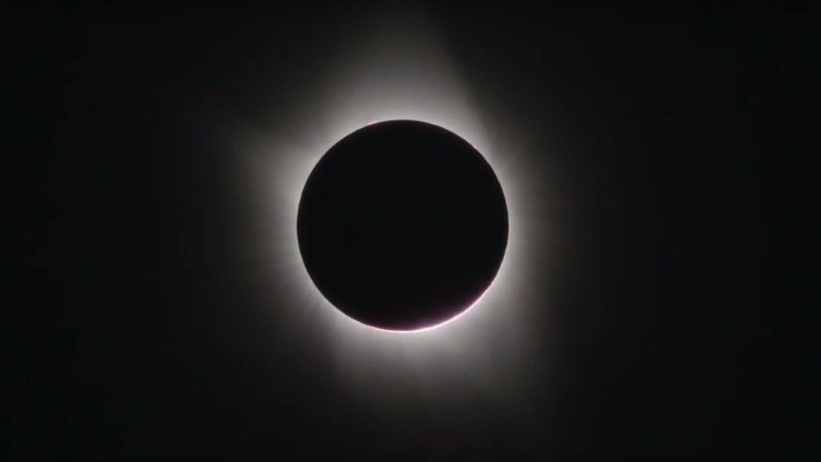 So schön war die Sonnenfinsternis in den USA