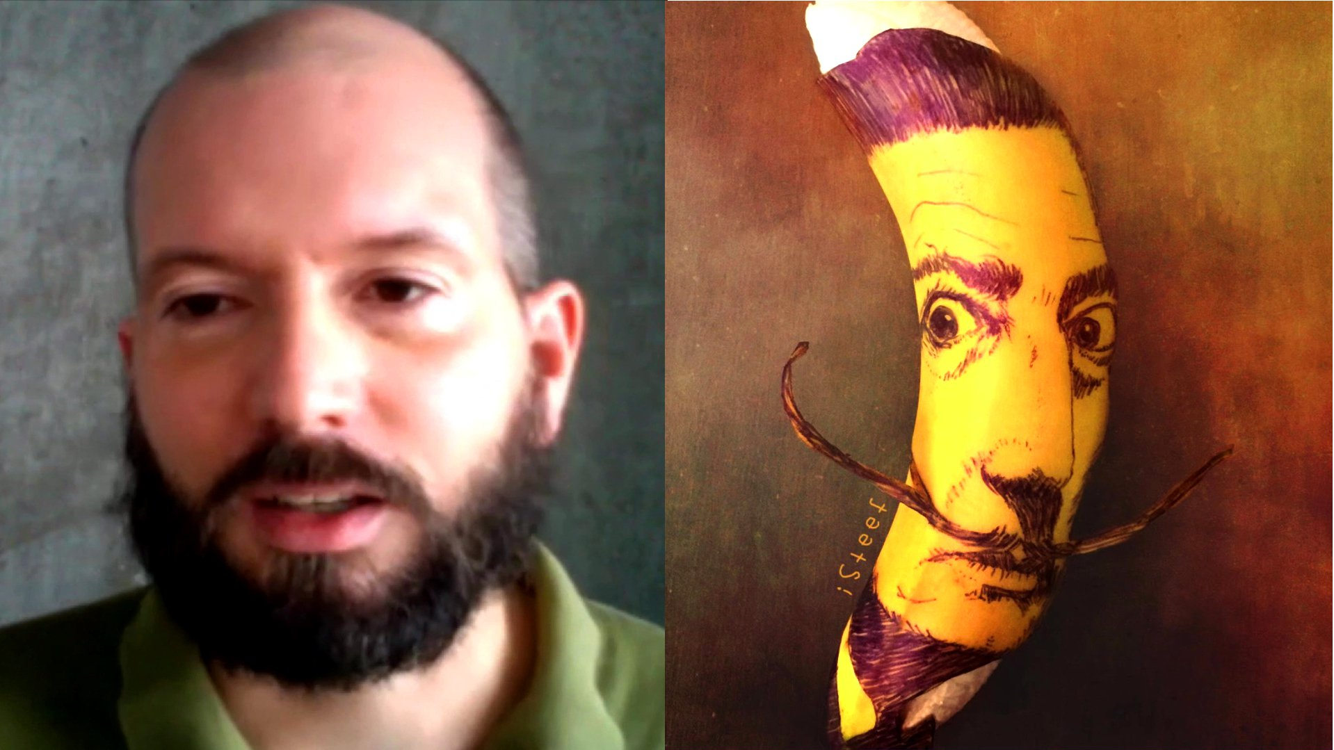 Bananen-Kunst: Dieser Mann verwandelt Obst in Kunstwerke