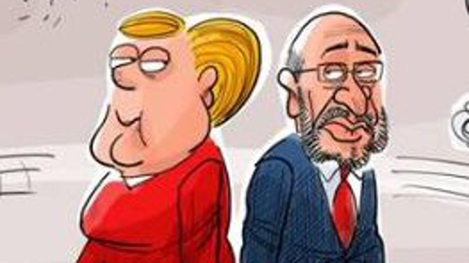 Die besten Karikaturen zum Bundestagswahlkampf 2017