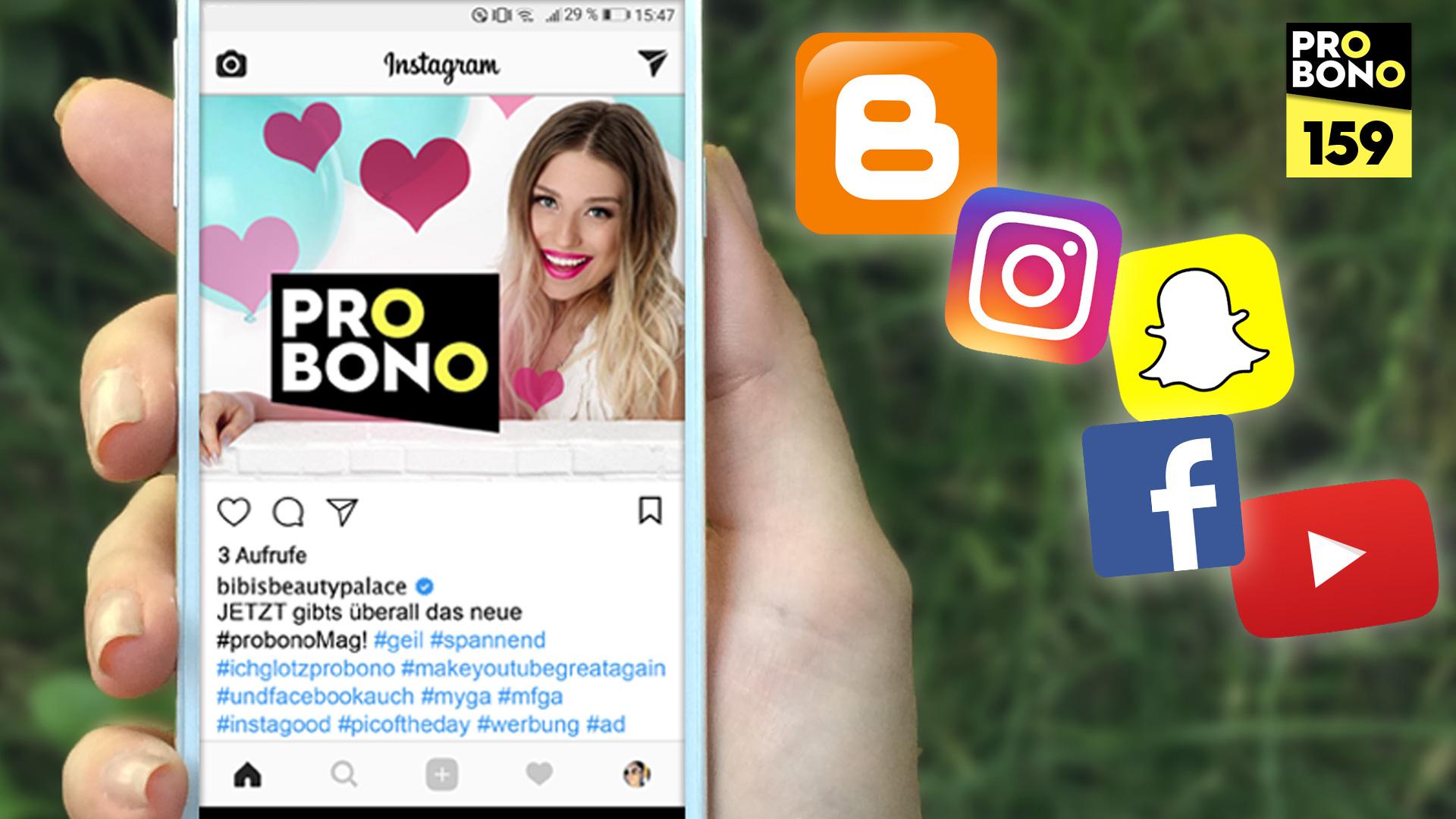 Influencer als Beruf: Schleichwerbung auf YouTube und Co. (probono Magazin)