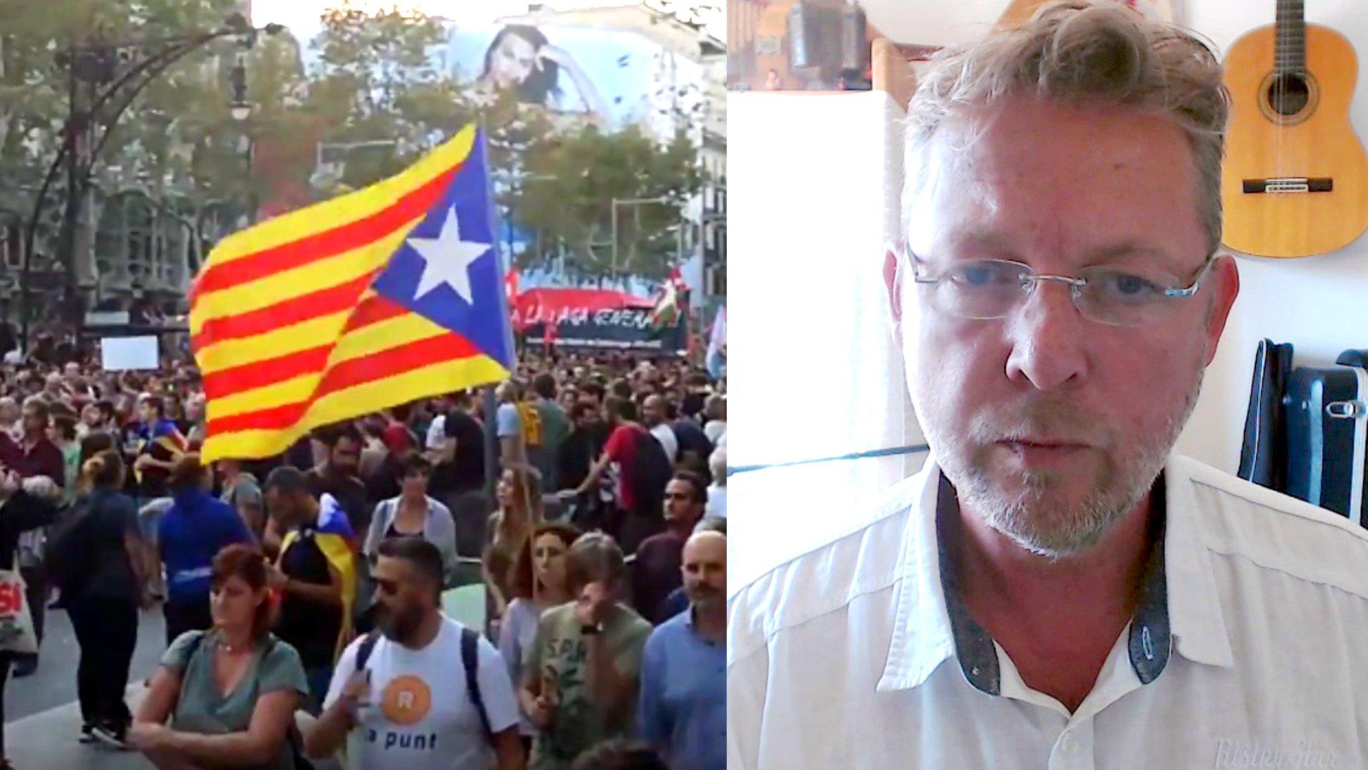 """""""Das macht mir Angst!"""" - Interview zur Krise in Katalonien"""