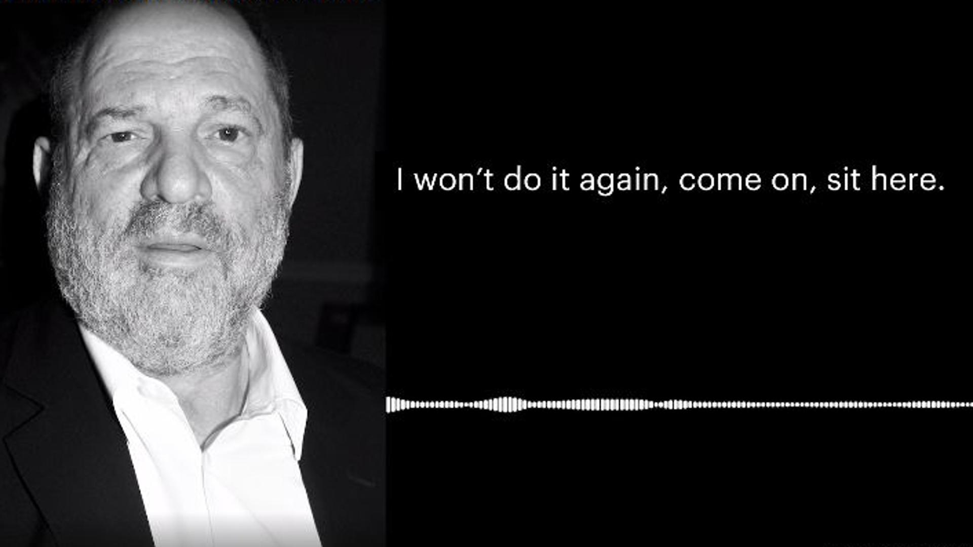 Harvey Weinstein: Sprachaufnahme sollen sexuelle Belästigungen beweisen