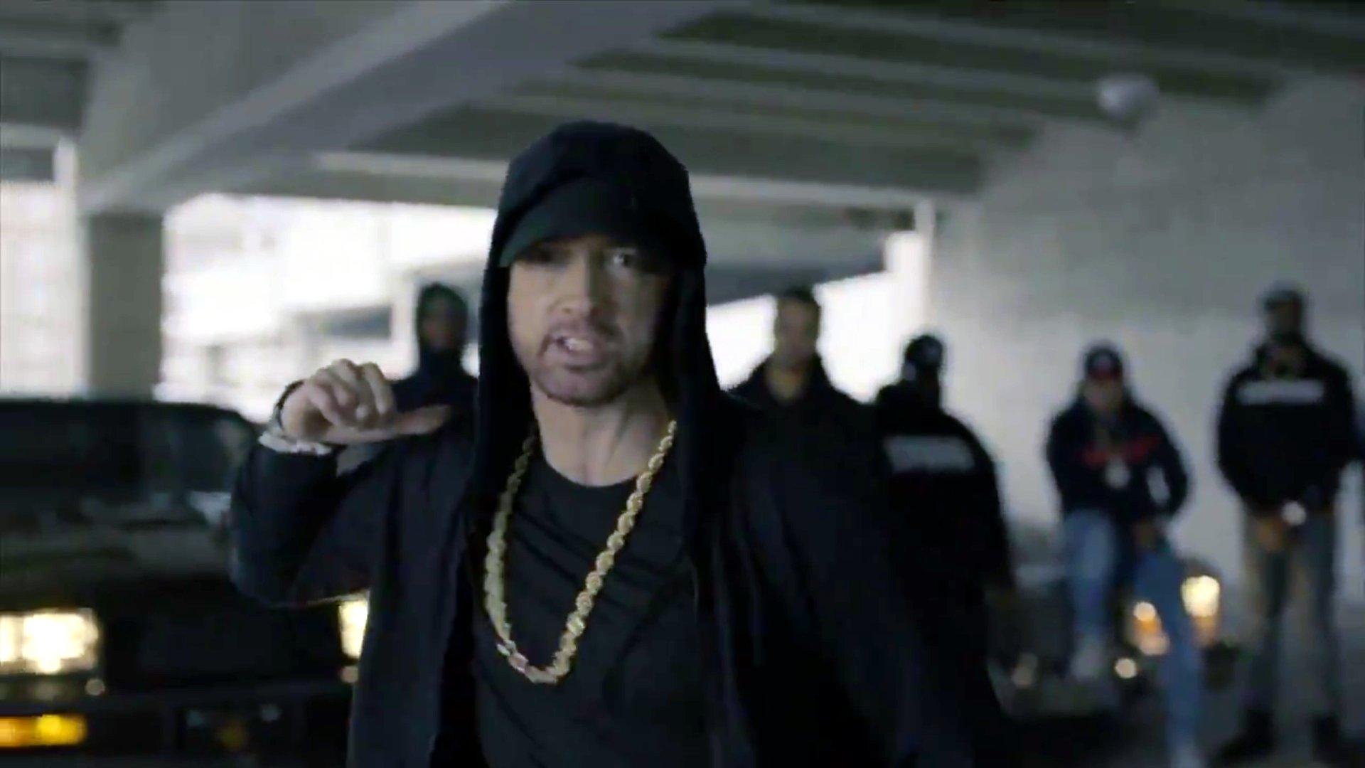 """Rapper Eminem teilt aus: """"Wir hassen Trump."""""""