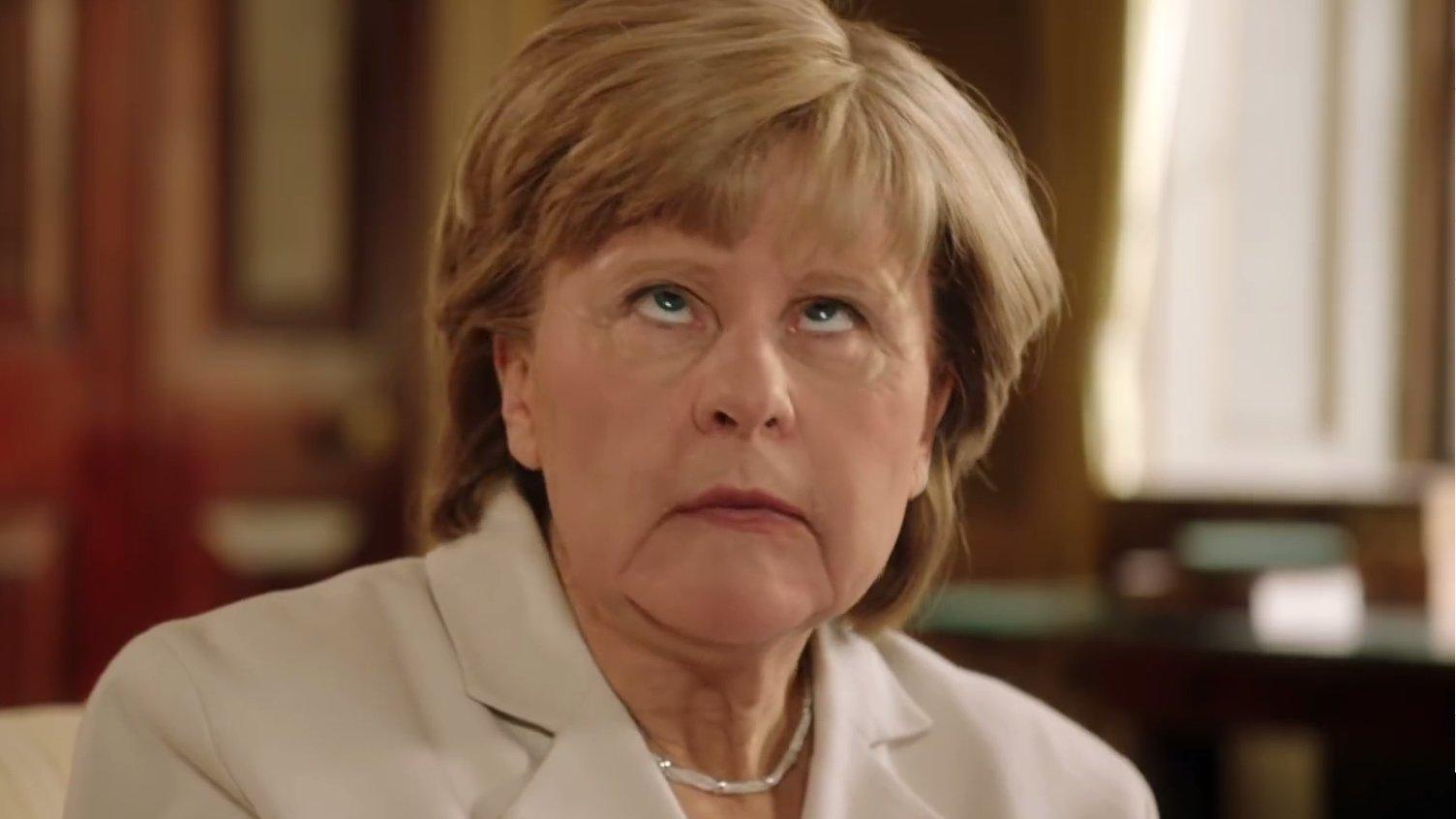 So lustig parodieren die Briten unsere Bundeskanzlerin Merkel