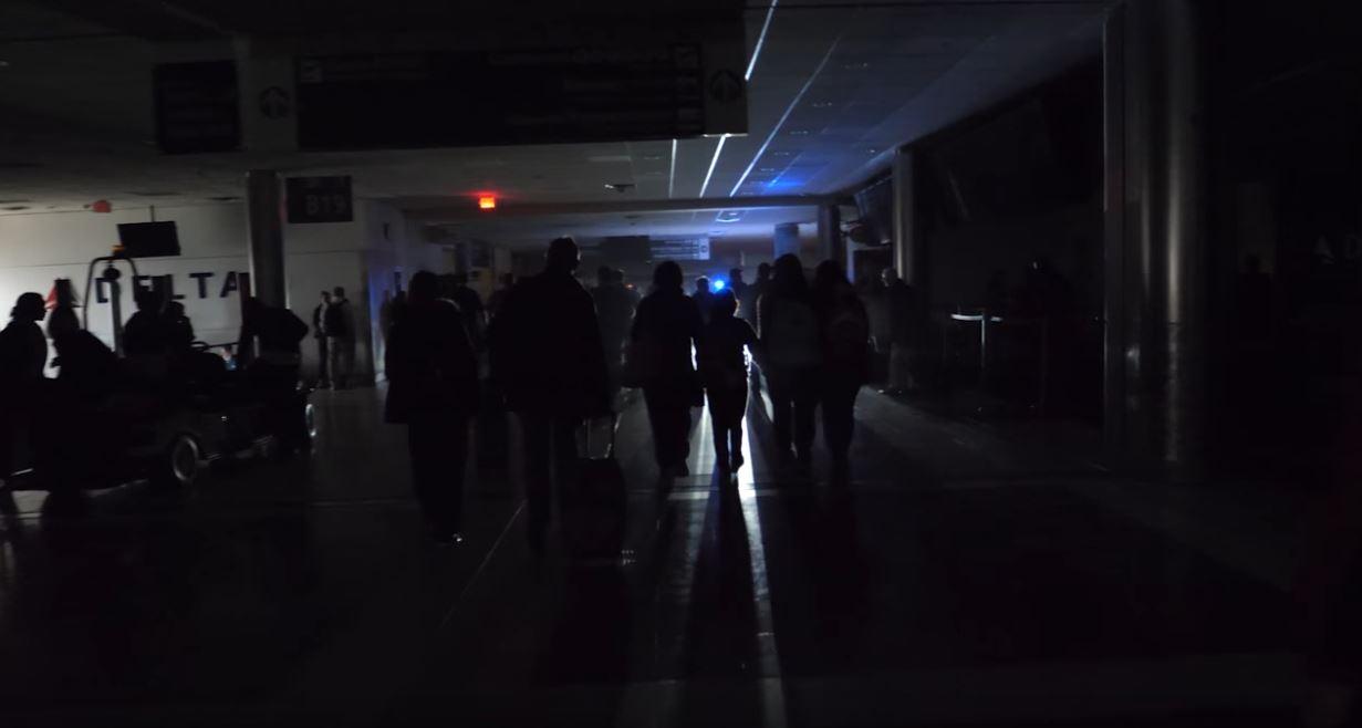 Geisterstimmung nach Stromausfall am Flughafen in Atlanta