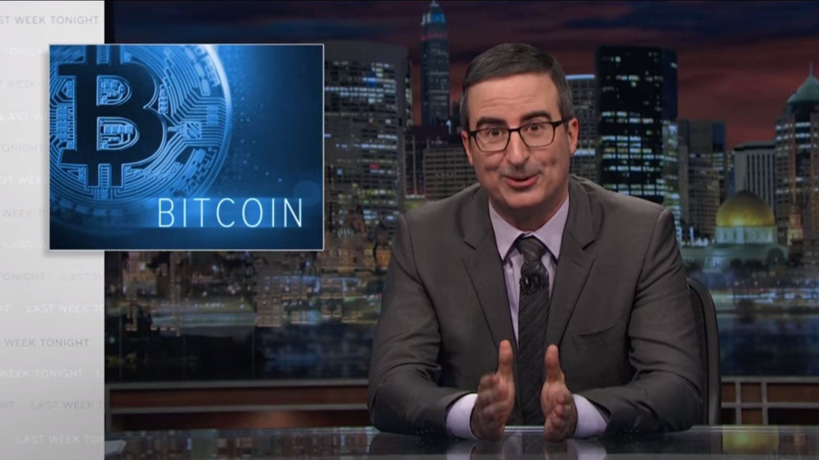 Was ist ein Bitcoin? John Oliver erklärt es überraschend verständlich