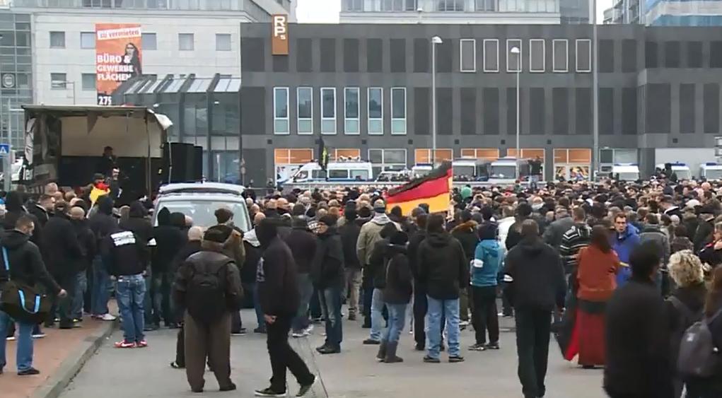 Holligans gegen Saltisten in Hannover