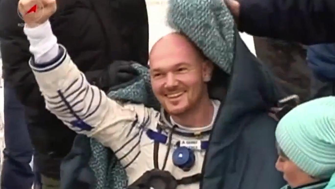 Alexander Gerst kehrt zur Erde zurück