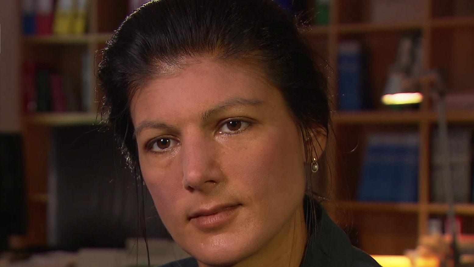 Co-Fraktionsvorsitzende Sahra Wagenknecht (DIE LINKE), 2015.