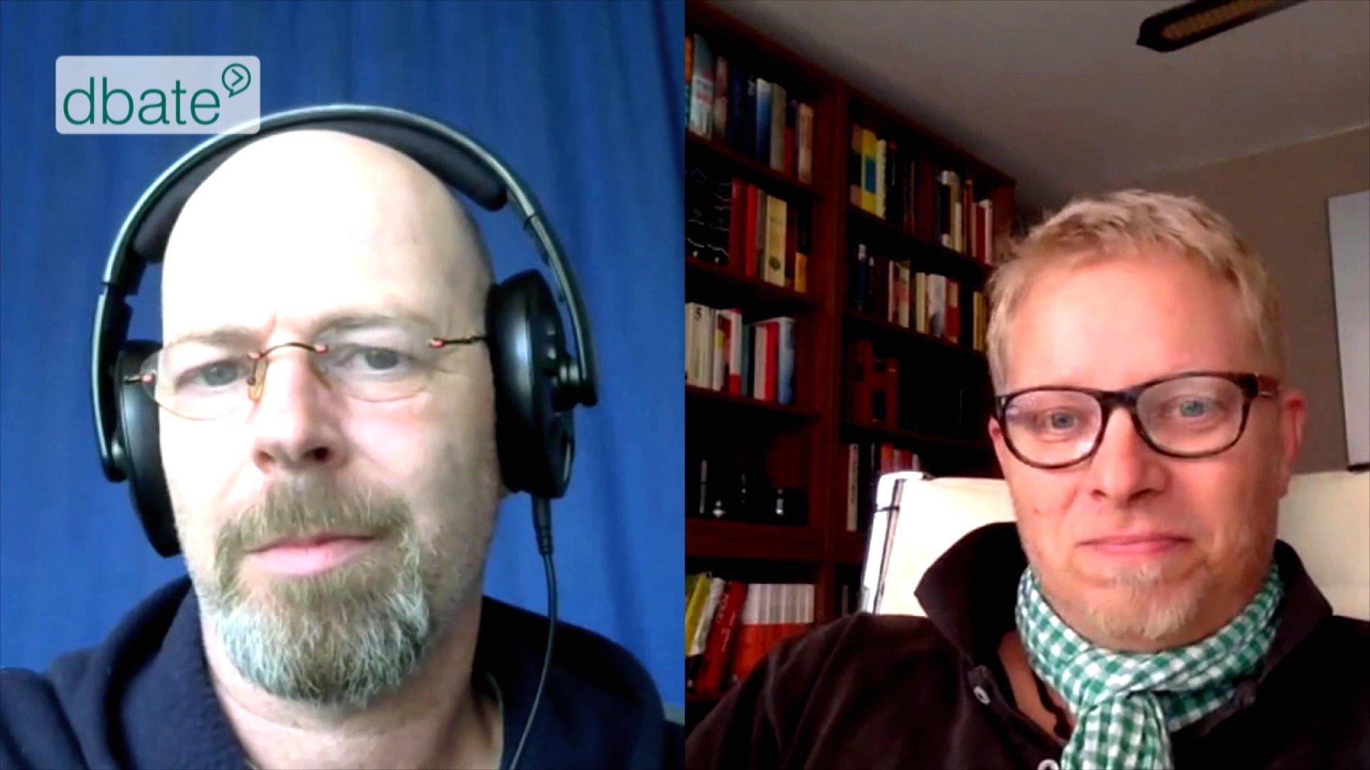 Blogger Berger und Wellbröck im Skype-Talk über das Versagen der Medien als vierte Gewalt.