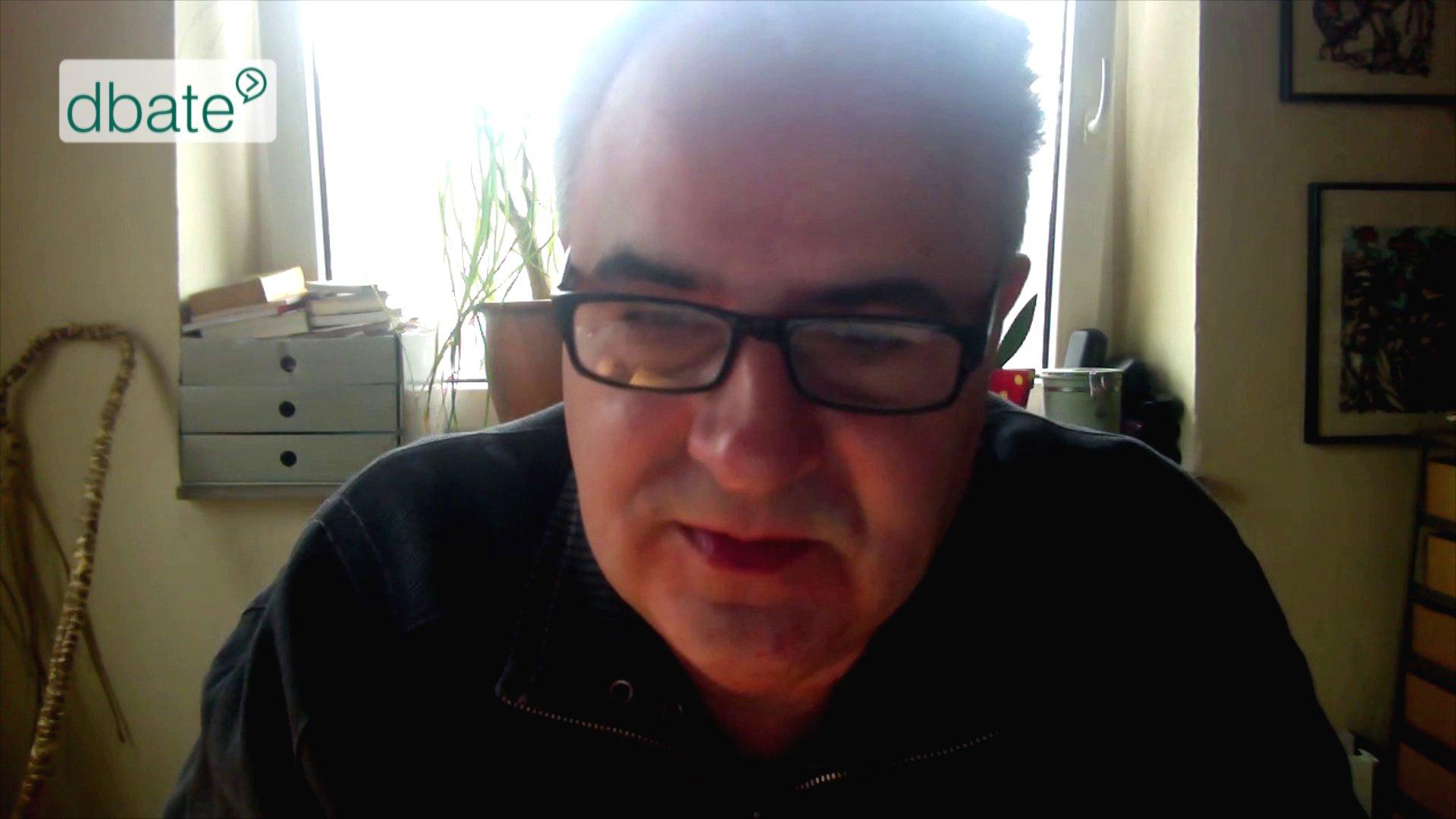 Stefan Laurin im Skype-Talk über politische Blogger