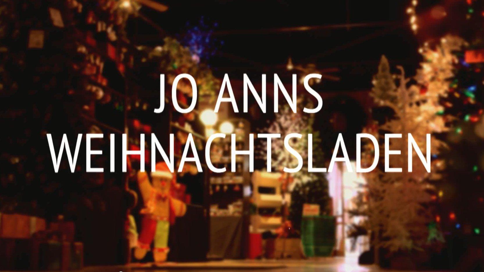 Jo Anns Weihnachtsladen in Berlin, Ohio.