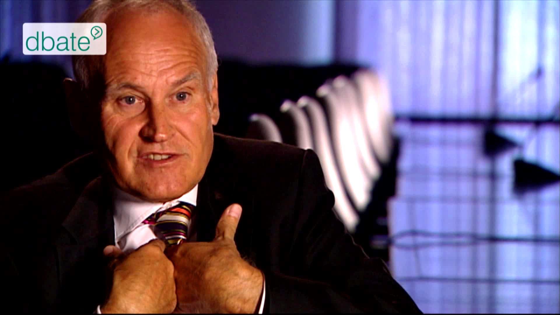 Erwin Huber im Interview mit Stephan Lamby.