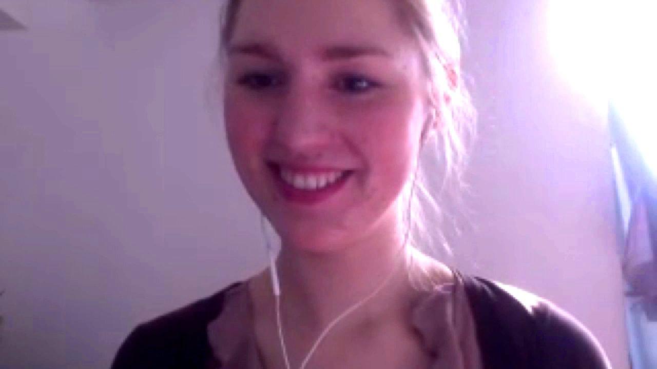 Jennifer Werthwein spricht im Skype-Talk über die Ziele von Blockupy